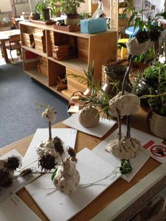 Clay table creations - Golden Square Kindergarten ≈≈