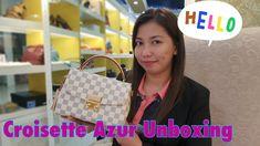 Louis Vuitton Unboxing LV Croisette Damier Azur ❤️ Bag Talks by Anna ❤️ Louis Vuitton Damier, Anna, Youtube, Bags, Handbags, Youtubers, Bag, Youtube Movies, Totes