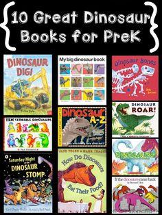 Dinosaur books for preschool MamaVonTeacher Dinosaur Theme Preschool, Dinosaur Activities, Preschool Books, Preschool Classroom, Book Activities, Preschool Activities, Classroom Ideas, Kindergarten, Summer Activities