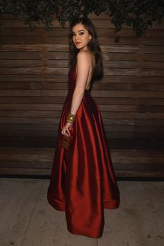 Inspired by Hailee Steinfeld Sexy Wine Red Celebrity Dresses Strapless Simple Celebrity Gowns Formal Dresses Uk, Cheap Prom Dresses Uk, Party Dresses Uk, Evening Dresses Uk, Sexy Evening Dress, Satin Dresses, Gowns, Graduation Dresses Uk, Le Rosey
