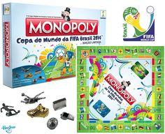Monopoly Copa do Mundo da Fifa Brasil 2014