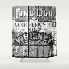 "new Jack Daniels shower curtain 60/""x 72/"" one sides with 12 holes"