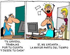 Las ventajas de ser freelance   #ChistesparaDG >>