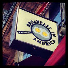 Breakfast in America in Paris, Île-de-France