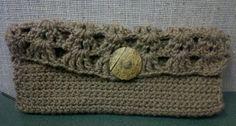 Brown Crochet Wallet --Enter to Win at asjahcrochet.com