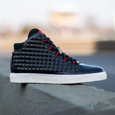 467ffd0efb96 Nike LeBron XII NSW Lifestyle QS Black Black-Challenge Red