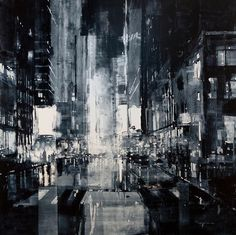 Cityscapes Painted with Oils