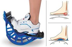 The Plantar Fasciitis Relief Rocker http://coolpile.com/health-fitness/the-plantar-fasciitis-relief-rocker/ via CoolPile.com - $39.95 -  Gifts For Her, Gifts For Him, Hammacher.com, Sports