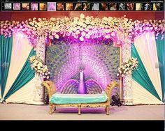 reception mandap #wedding  #indianwedding, #shaadibazaar