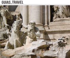 Detalle de la Fontana di Trevi  www.viajararoma.com   www.guias.travel