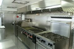 How an Apollo Concession Food Trailer is built. (Pictures)