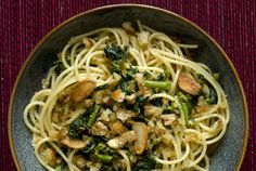 Broccoli rabe can take whatever you throw at it and still shine Its mild but distinctive bitterness dominates almost anything you cook it with — but what's wrong with that So a pasta sauce that features it teamed with garlic and chili flakes is a natural