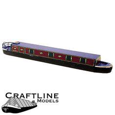 Oo boat #balsa kit - black prince holidays narrow boat #craftline #bla56 free pos,  View more on the LINK: 	http://www.zeppy.io/product/gb/2/281968401914/