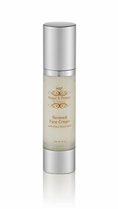 Renewal Face Cream with Plant Stem Cells Hope  Power by Nuriss C  Anti Aging Skin Care Diminish Fine Lines  Wrinkles Goes on Smooth and Provide Moisturizing Effect ** You can get additional details at the image link. (Note:Amazon affiliate link)