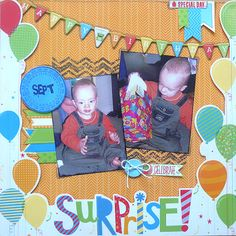 life, love and scrap: Surprise!