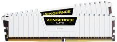Corsair - Vengeance 2-Pack 8GB PC4-24000 DDR4 Dimm Unbuffered Non-ECC Desktop Memory Kit - White