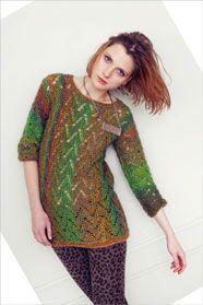 d9e555d6781 dámský ručně pletený svetr z přízí Murano Lace a Kid Silk