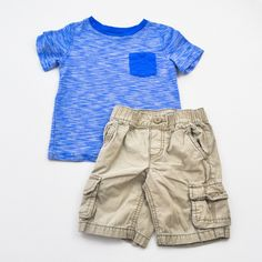 Boys 4/4T Shorts and Shirt- Gently Used- Old Navy- Click to see the whole lot!