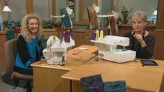 Ultimate Serger Techniques, Part 2 Video from Sewing with Nancy. If you keep your serger set at the basic 4-thread stitch, join Nancy and serger pro Pam Mahshie to take your creative sewing and serging in a new direction. Explore stitches and threading possibilities as the journey continues and you learn the basics. Then branch out into new directions with techniques you'll love, for an ultimate serger experience!