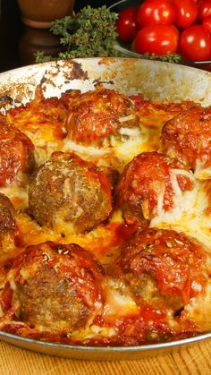Meatballs in Tomato Cheese Sauce – Tastemade Meatballs in Tomato Cheese Sauce These saucy meatballs are topped with cheese, then baked for extra ooey, gooey goodness. Meatball Recipes, Beef Recipes, Cooking Recipes, Healthy Recipes, Italian Dishes, Italian Recipes, Tomato And Cheese, Cheese Sauce, Beef Dishes