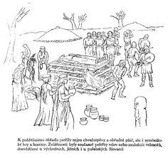 Pohanská viera Slovanov - pohrebné rituály