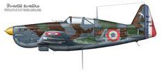 Morane Saulnier MS.406 fighter published in Aero Journal No. 10 by Srećko Bradić.