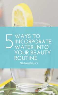 Water can be beneficial to your hair and skin. See how beneficial it can be and how stay properly hydrated. | A Relaxed Gal #healthyskin #healthyhair #beautytips #clearskin