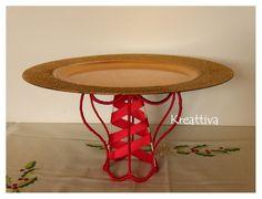 #kreattiva: Un #alzatina riciclando una lampada