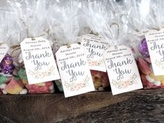 Baby Shower DIY Projects Thank You Tags, Thank You Gifts, Candy Cone, Buttercream Roses, Lindt Chocolate, Letter Balloons, Rustic Theme, Party Stores, Diy Baby