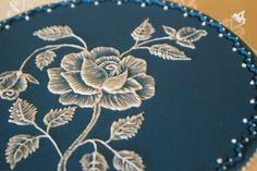 lezione di brush embroidery con krikrina da cookaround