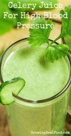 Celery Juice For High Blood Pressure | GrowingRealFood.com  Eat about one cup if chopped celery daily. Read for all the benefits.