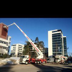 Finnish crane...