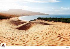 Playa de Bolonia (Tarifa, Cádiz, España) / Bolonia beach (Tarifa, Cádiz, Spain)