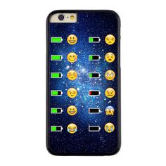 Emoji Face Phone Battery Hard Cover Case for iPhone 6S 5S 5 5C 4S 6 6 Plus