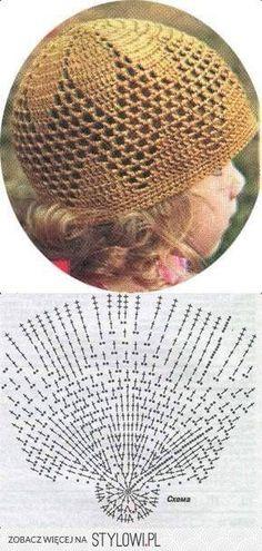 33 ideas crochet headband kids beanie hats for 2019 Crochet Kids Hats, Crochet Beanie Hat, Crochet Cap, Crochet Baby Clothes, Crochet Motif, Beanie Hats, Crochet Stitches, Knitted Hats, Sombrero A Crochet