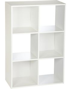 ClosetMaid 899600 6-Cube Stackable Laminate Organizer