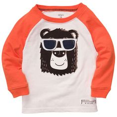 Long-Sleeve Graphic Tee love this! Totally getting baby boy this! :)
