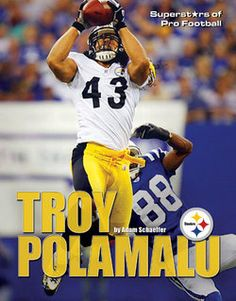 Troy Polamalu  43 Steelers 4b4ab5d32