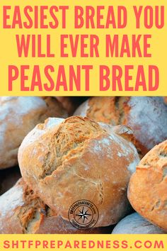 This is the perfect bread recipe to have if SHTF!