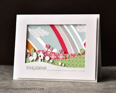 by Tasnim paper craft, challenges, card inspir, memori box, matchi challeng, frames, a frame, mixi matchi, cards
