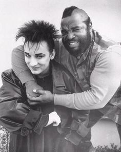 Boy George & Mr. T
