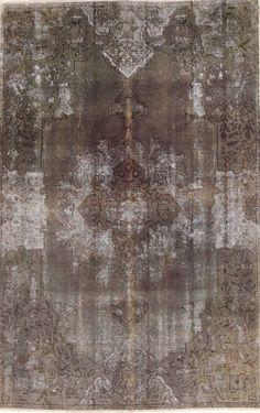 Wunderschöner Perser Teppich Vintage Handgeknüpfte alfombra 208 x 148  Patchwork