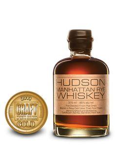 2013 International Craft Spirits Awards Competition | Hudson Manhattan Rye Whiskey