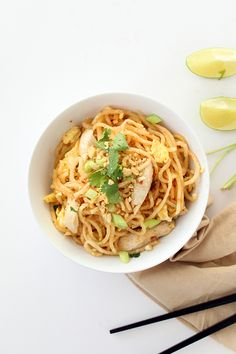 One of the best parts about spiralizing is that just by simply changing up the noodle type in a recipe, you can completely change the taste and texture of the dish. I feel like I start many blog po...