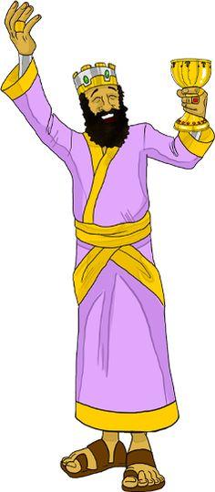 King Belshazzar of Babylon.