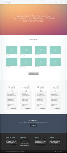 Six New Premade Layouts For Designers