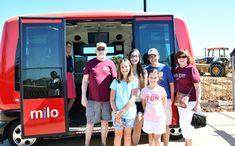 The City of Arlington's autonomous shuttle pilot project, Milo, marked its 100th event in June 2018.