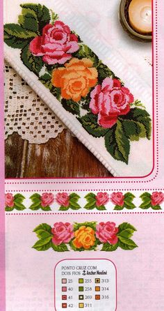 ENCANTOS EM PONTO CRUZ: Flores
