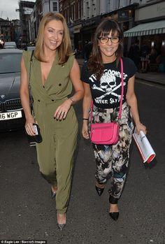 Gal pals:Gemma Merna and Roxanne Pallett saw Hollyoaks and Emmerdale collide as the stunn...