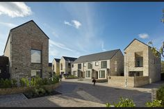 Thirty houses completed on ex-industrial site in Liverpool by DK-Architects Social Housing Architecture, Architecture Career, Residential Architecture, Site Development Plan, Brick Facade, Council House, Courtyard House, The Gables, Affordable Housing